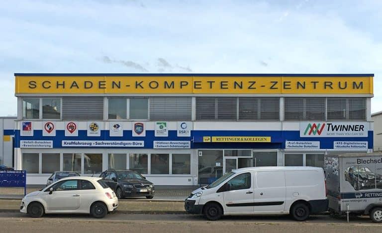 Rettinger Kollegen im Schaden-Kompetenz-Zentrum Mannheim